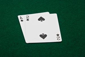 Acey Deucey Card
