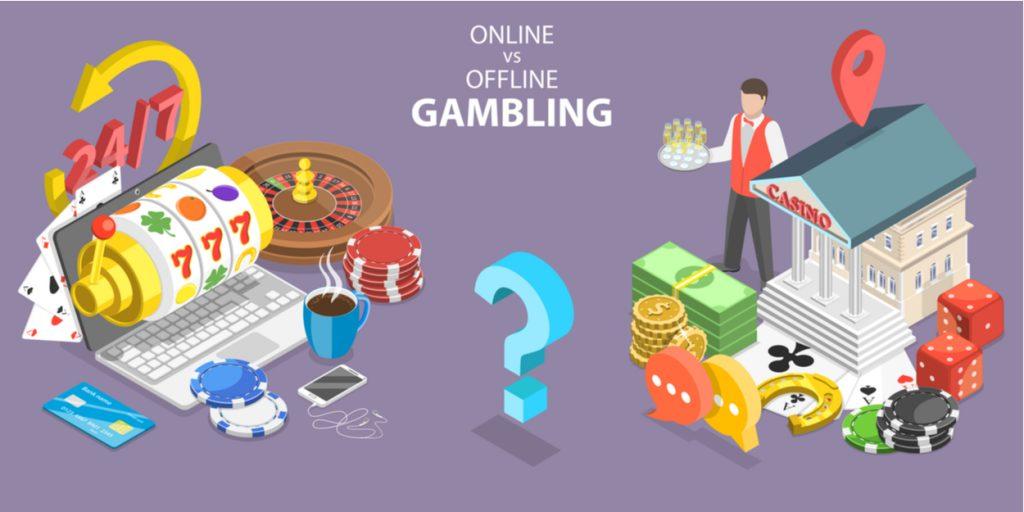 online vs traditional roulette